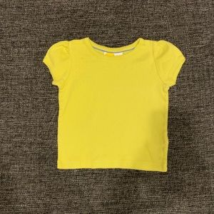 Mini Boden Yellow T-Shirt